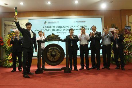 Nhiet dien Hai Phong chinh thuc dua 500 trieu co phieu len UPCoM - Anh 1