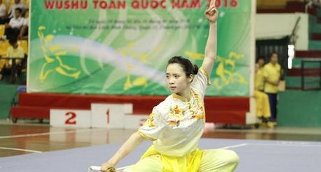 Viet Nam xep thu 3 toan doan Giai vo dich wushu tre the gioi 2016 - Anh 1
