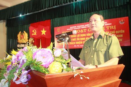 Nang cao nhan thuc, trach nhiem cua tuoi tre Cong an nhan dan - Anh 1