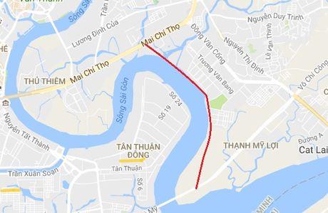 TP.HCM: Lam duong ven song Sai Gon noi KDC Thanh My Loi den duong Mai Chi Tho - Anh 1