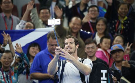 "China Open ngay 3: Khi Murray thich ""selfie"" - Anh 1"
