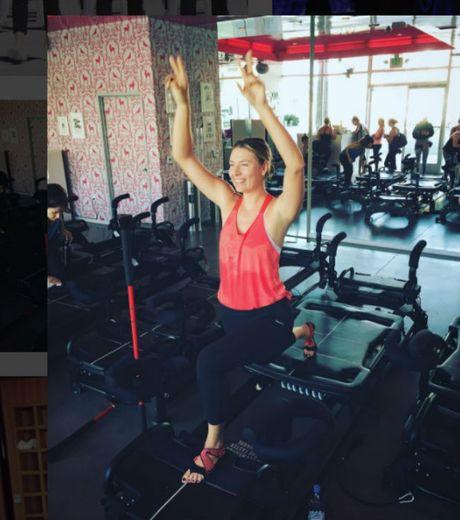 Sharapova se tro lai day nong bong trong nam 2017 - Anh 2
