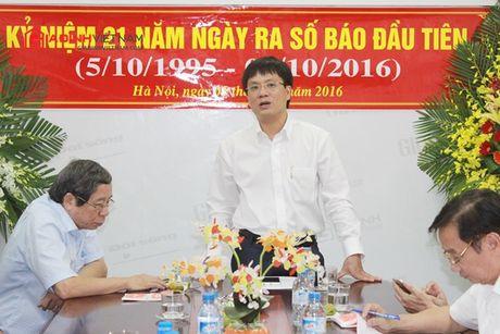 Bao GDVN gap mat than mat cac the he lanh dao, PV, BTV nhan dip 21 nam thanh lap - Anh 2