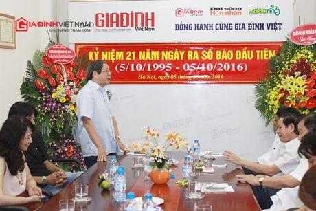 Bao GDVN gap mat than mat cac the he lanh dao, PV, BTV nhan dip 21 nam thanh lap - Anh 3