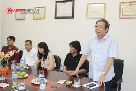 Bao GDVN gap mat than mat cac the he lanh dao, PV, BTV nhan dip 21 nam thanh lap - Anh 4