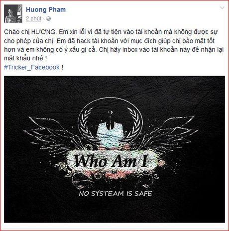 Hoa hau Pham Huong: Giat minh voi loi nhan kho hieu cua ke giau mat - Anh 1