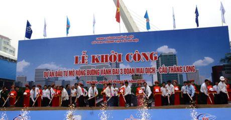 Hon 3.100 ty mo rong duong Vanh dai 3, doan Mai Dich - Cau Thang Long - Anh 1