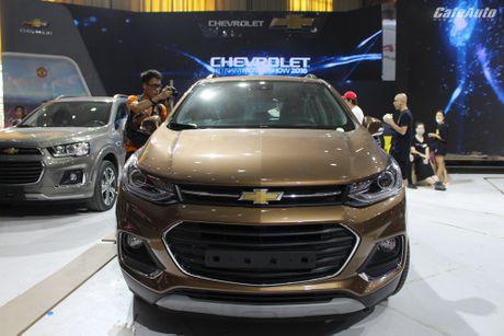 Chevrolet Trax 2017 - doi thu nang ky cua Ford Ecosport - Anh 1