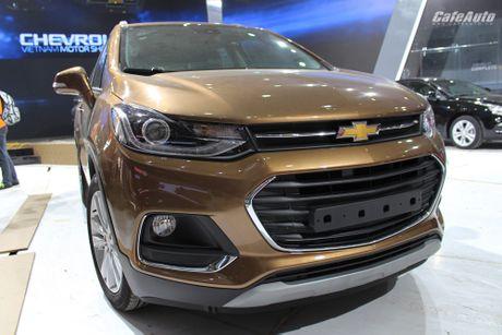 Chevrolet Trax 2017 - doi thu nang ky cua Ford Ecosport - Anh 3