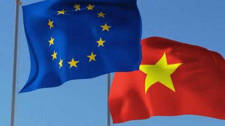 Hiep dinh doi tac hop tac EU-Viet Nam chinh thuc co hieu luc tu 1/10 - Anh 1