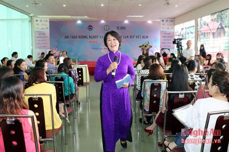 Cac chuyen gia lam dep hang dau Viet Nam chia se ve nghe tai Nghe An - Anh 1