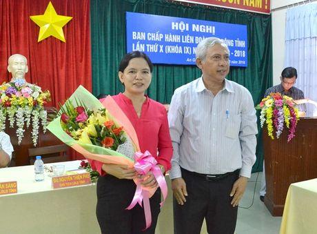 LDLD An Giang co nu Pho chu tich moi - Anh 1