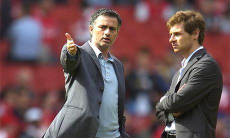 """Jose Mourinho da """"tro mat"""" voi cong su cu Villas-Boas ra sao? - Anh 1"""