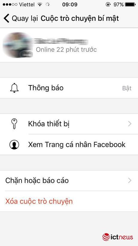 Huong dan nhan tin bi mat tren Facebook Messenger - Anh 7