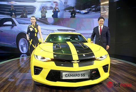 Chi tiet Chevrolet Camaro SS 2016: Xe 'hot' nhat Trien lam o to Viet Nam - Anh 13