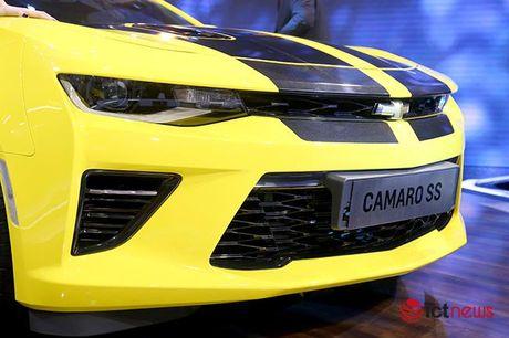 Chi tiet Chevrolet Camaro SS 2016: Xe 'hot' nhat Trien lam o to Viet Nam - Anh 3