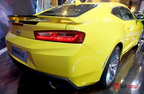 Chi tiet Chevrolet Camaro SS 2016: Xe 'hot' nhat Trien lam o to Viet Nam - Anh 4