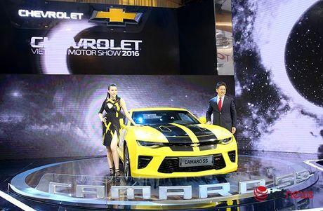Chi tiet Chevrolet Camaro SS 2016: Xe 'hot' nhat Trien lam o to Viet Nam - Anh 6