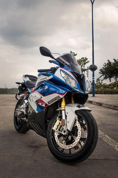 Sieu mo to BMW S1000RR len tem M Series tai Sai Gon - Anh 2