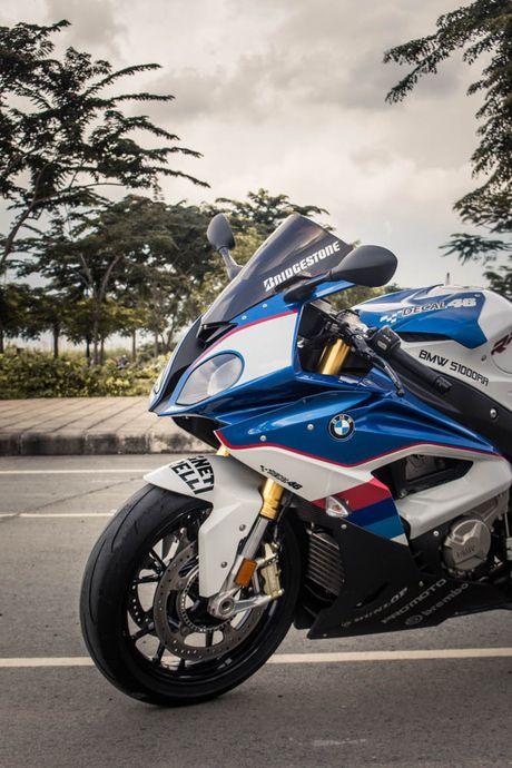 Sieu mo to BMW S1000RR len tem M Series tai Sai Gon - Anh 7