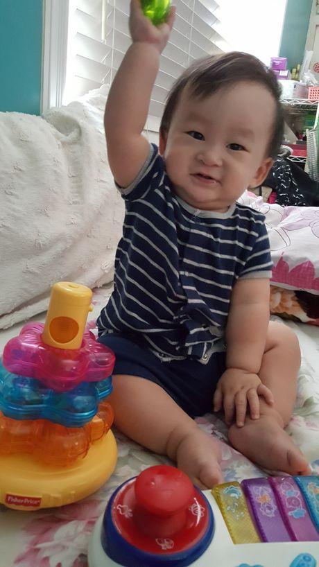 'Be' Xuan Mai lan dau trai long chuyen lay chong, sinh con - Anh 2