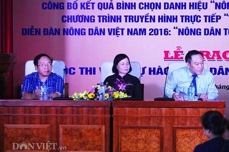 Cho nong dan gioi 'xuat ngoai' hoc hoi kinh nghiem - Anh 1