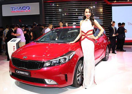 Vietnam Motor Show 2016: Kia ra mat 4 mau xe - Anh 1