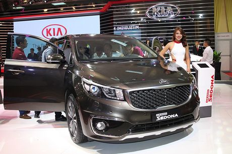 Vietnam Motor Show 2016: Kia ra mat 4 mau xe - Anh 2