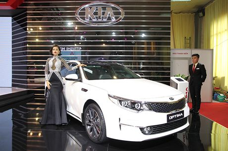 Vietnam Motor Show 2016: Kia ra mat 4 mau xe - Anh 4
