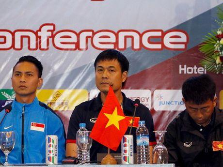 HLV Huu Thang: 'Trieu Tien manh hon han Viet Nam' - Anh 2