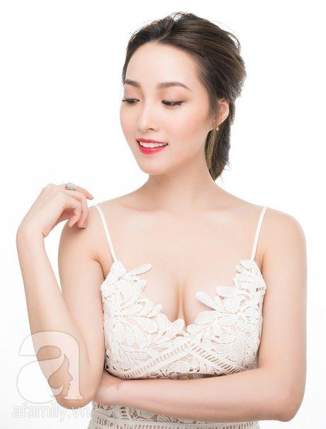 Trang diem nhe nhang voi mau son do ngot ngao hop huong sac dau thu - Anh 2