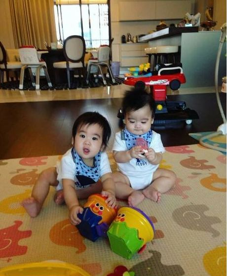 Ngam khong biet chan 2 con trai song sinh cua Lam Chi Dinh - Anh 10