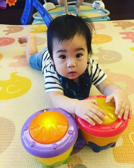 Ngam khong biet chan 2 con trai song sinh cua Lam Chi Dinh - Anh 14
