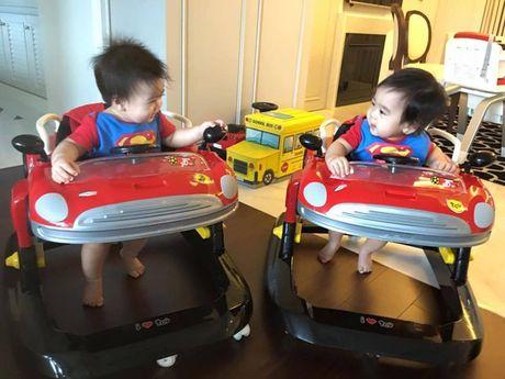 Ngam khong biet chan 2 con trai song sinh cua Lam Chi Dinh - Anh 5
