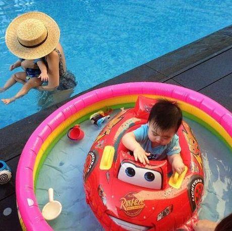 Ngam khong biet chan 2 con trai song sinh cua Lam Chi Dinh - Anh 9