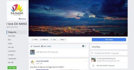 Khen thuong CA Da Nang vu fanpage ''I love Da Nang'' - Anh 1
