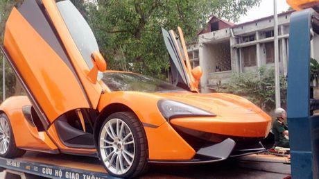 Chan pho phuong Ha thanh, McLaren 570S thu 2 tai Viet Nam duoc cho Nam tien - Anh 1