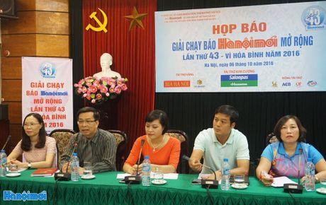 Gan 1.200 VDV gop mat tai Chung ket Giai chay Bao Hanoimoi mo rong - Anh 1