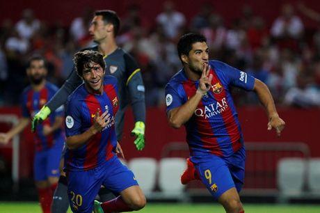 """Barcelona """"troi chan"""" MSN, Suarez nhan luong ngang Neymar - Anh 1"""