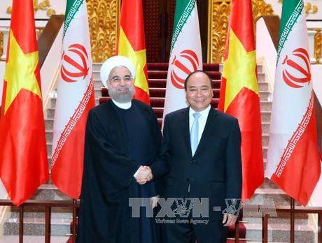 Thu tuong Nguyen Xuan Phuc tiep Tong thong Iran - Anh 1