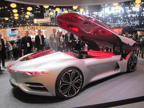 Ngan ngo truoc 5 mau xe dep nhat Trien lam Paris Motor Show 2016 - Anh 1