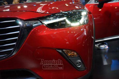 Chi tiet Mazda CX-3 lan dau ra mat khach hang Viet - Anh 4