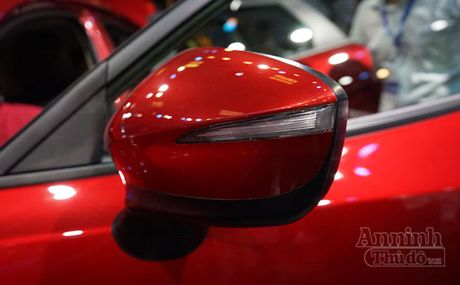 Chi tiet Mazda CX-3 lan dau ra mat khach hang Viet - Anh 5