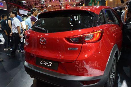 Chi tiet Mazda CX-3 lan dau ra mat khach hang Viet - Anh 6