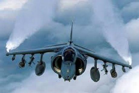 Quan doi My noi lai hoat dong bay cua phi doi AV-8B Harrier o Okinawa - Anh 1