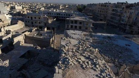Lien quan My khong kich Aleppo lam 60 nguoi thuong vong - Anh 1