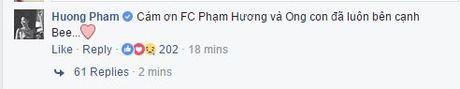 Pham Huong da lay lai duoc Facebook ca nhan sau khi bi hacker tan cong - Anh 2