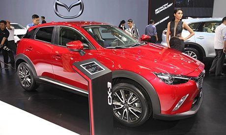 Mazda CX-3 lan dau chao khach hang Viet Nam - Anh 1