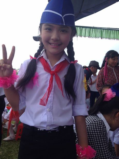 Khanh Huyen The Voice Kids: Lo anh thoi 'sun rang' dang yeu va goi nham ten chu Noo - Anh 11