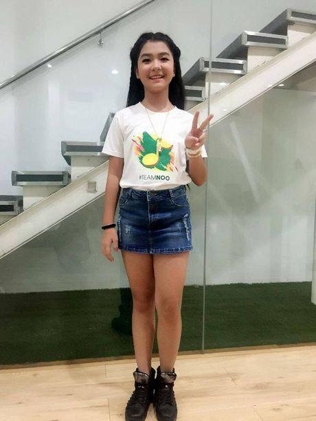 Khanh Huyen The Voice Kids: Lo anh thoi 'sun rang' dang yeu va goi nham ten chu Noo - Anh 14